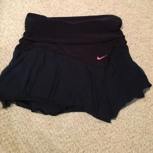 Nike Chiffon Tennis Skirt (Navy)